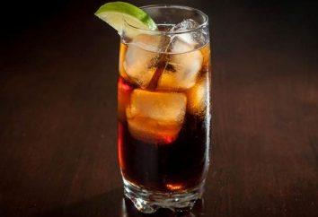 "Cocktail ""Cuba Libre"" – la carta dell'Isola di libertà"