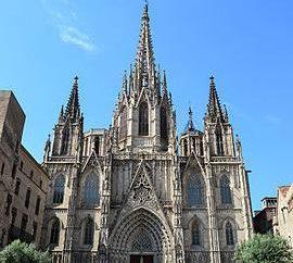 W jakim mieście jest katedra? Niż jest niezwykłe?