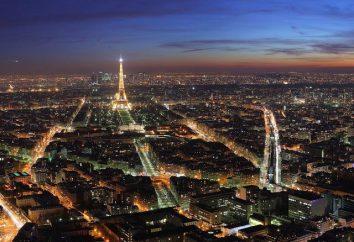 Die Gegend von Frankreich. Erleichterung