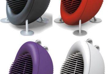 Armas térmicas de calor: comentários e diagrama esquemático