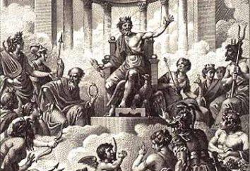 dioses famosos de Olympus