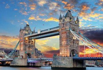 Tower Bridge in London: Beschreibung, Geschichte, Eigenschaften und interessante Fakten
