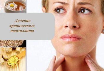 El tratamiento de la amigdalitis crónicas: remedios populares. El tratamiento eficaz de la amigdalitis crónica en niños