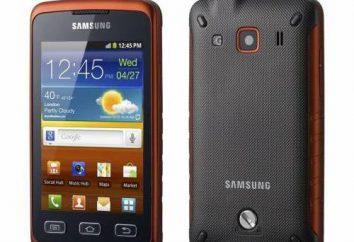 Revisión del teléfono inteligente Samsung Xcover: descripción, características y opiniones