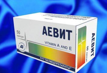Vitamines « Aevit » pour la peau autour des yeux: commentaires. Comment appliquer rides « Aevit »
