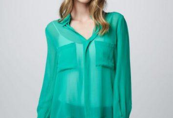 Como costurar uma blusa de chiffon, um padrão de blusa com suas próprias mãos