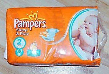couches pour bébés Pampers Sleep & Play: commentaires clients, types et composition