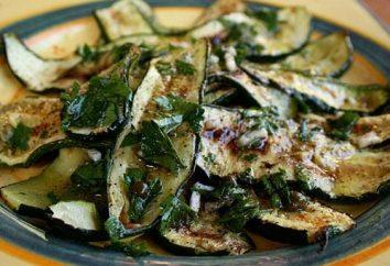 Gotowanie cukinia marynowane w koreańskim