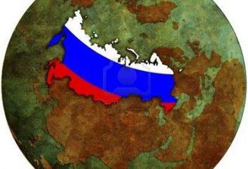 La divisione amministrativo-territoriale della Russia: storia e modernità