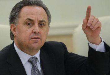 Krótka informacja o Witalij Mutko – Minister Sportu