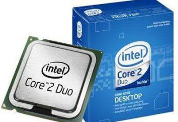 Intel Core 2 Duo E7500: dane techniczne i opinie