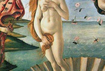 Aphrodite, donnant la beauté, l'amour et la fertilité