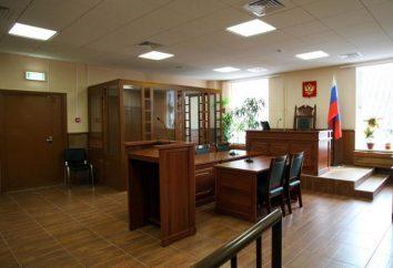 La struttura organizzativa del tribunale distrettuale