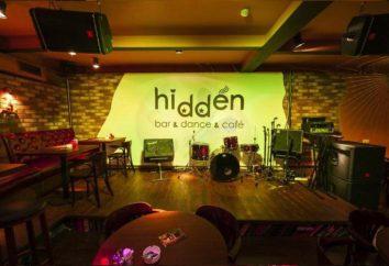 """""""Hidden Bar"""": il concetto, menù, l'indirizzo"""