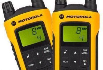 Radiotelefon Motorola TLKR-T80 Ekstremalne: przegląd i informacje zwrotne