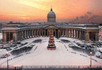 Onde celebrar o Ano Novo em São Petersburgo?