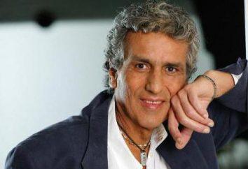artistas italianos populares. cantores Itália