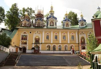 Sretensky Klasztor w Moskwie: chór, ukryte, Hotel