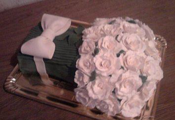 Gâteau « bouquet » avec ses propres mains: une classe de maître, étape par étape, recette recommandations et commentaires