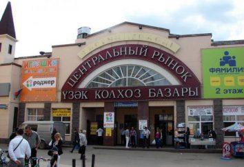Marché central de Kazan: assortiment et caractéristiques