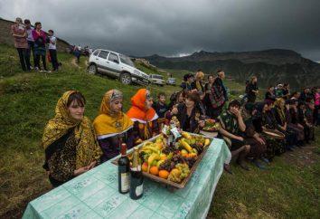 Highland Daghestan: la nature, les secours, les questions environnementales