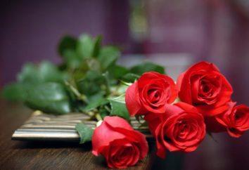 Ciò che è nascosto in un mazzo di fiori. Come dare una ragazza Rose?