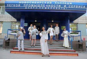 Nowosybirsk Kolegium przemysłu lekkiego i usług: opis i opinie specjalności
