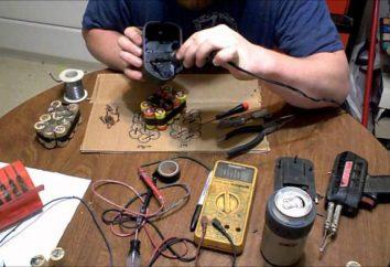 Comment restaurer la batterie de tournevis et sa capacité? Est-il possible de restaurer le tournevis de la batterie