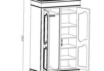 Cabinet en bois avec leurs mains: dessins, instructions étape par étape et recommandations