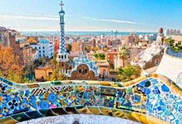 Espanha: terra área, descrição e pontos de interesse