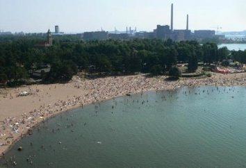 Quelle plage du golfe de Finlande offre pour des vacances? Les plus belles plages de la côte du golfe de Finlande: carte, photos et commentaires