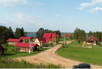 Konstantinovo: mansión en el lago Seliger