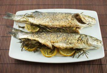 Jak gotować seabass w piecu: przepisy kulinarne