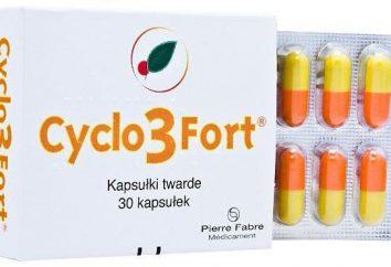 """Composizione, posizione, recensioni e l'istruzione """"Cyclo 3 Fort"""". Prodotto """"Cyclo 3 Fort"""": istruzioni per l'uso e analoghi"""