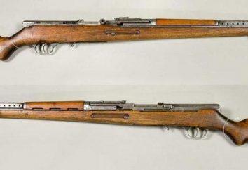 fusil automatique Simonov: caractéristiques et photo