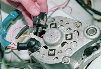 Générateur VAZ 2112 spécifications, la réparation et le remplacement
