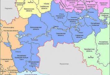 Géographie de la Russie: EGP Volga