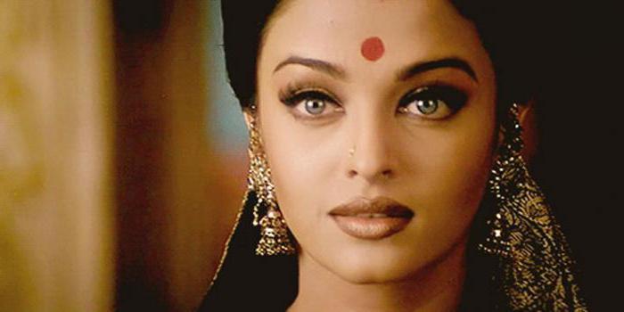 Bindi: das bedeutet, dass an der Stelle der indischen