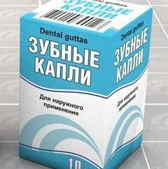 Medicament « gouttes Tooth »: l'instruction, l'utilisation et les contre-indications