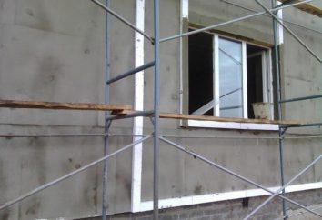 Beschreibung und Arten von Fassaden. Installation von Fassaden