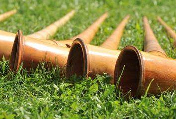 Tuyau (instrument de musique): formes, photos