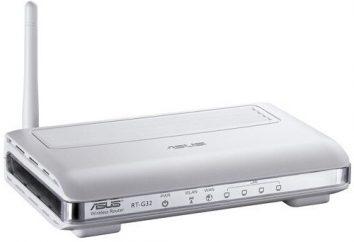Jak skonfigurować router Asus RT-G32? Router i konfiguracja oprogramowania Asus RT-G32