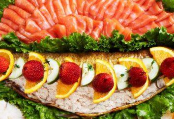 Jak ozdobione plasterkami ryby?