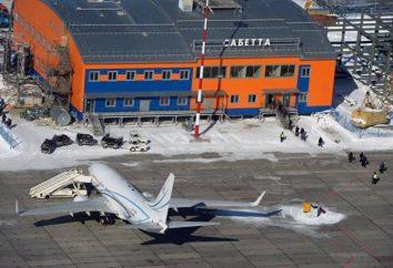 Aéroport Sabetta. Yamal District, Iamalie