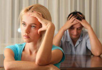 rapporti inacidito con il marito dopo il parto. Cosa fare? Psicologia delle relazioni familiari