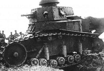 Zbiornik światło piechoty T-18: charakterystykę działania, uzbrojona