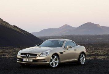 Mercedes SLK: projektowania, specyfikacje i cena samochodu