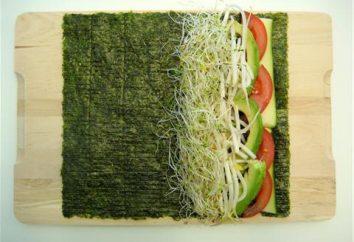 Alghe per sushi