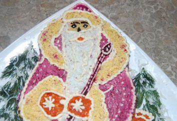 Salade « Père Noël »: recette