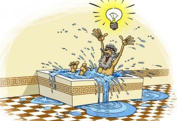 """¿Quién dijo """"Eureka!""""? descubrimiento Legendary de principio de Arquímedes"""